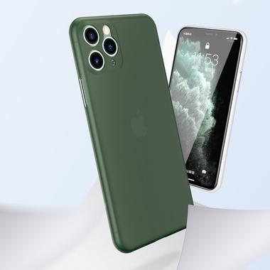 Чехол для iPhone 11 Pro Max 0,4 mm - темно-зеленый LolliPop, фото №10