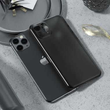 Чехол для iPhone 11 Pro Max 0,4 mm - черный LolliPop, фото №1