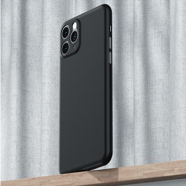 Чехол для iPhone 11 Pro Max 0,4 mm - черный LolliPop, фото №6