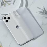 Чехол для iPhone 11 Pro Max 0,4 mm - белый полупрозрачный LolliPop