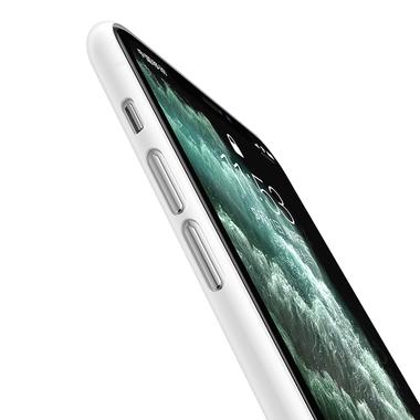 Чехол для iPhone 11 Pro Max 0,4 mm - белый полупрозрачный LolliPop, фото №2