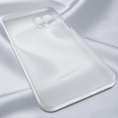 Чехол для iPhone 11 Pro Max 0,4 mm - белый полупрозрачный LolliPop, фото №3