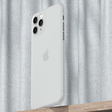 Чехол для iPhone 11 Pro Max 0,4 mm - белый полупрозрачный LolliPop, фото №4