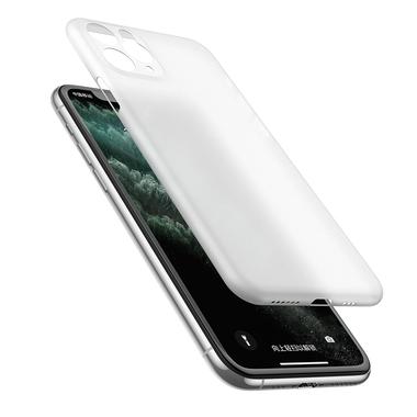 Чехол для iPhone 11 Pro Max 0,4 mm - белый полупрозрачный LolliPop, фото №5