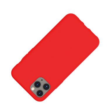 Силиконовый чехол для iPhone 11 Pro Max Magic Silki - красный, фото №2