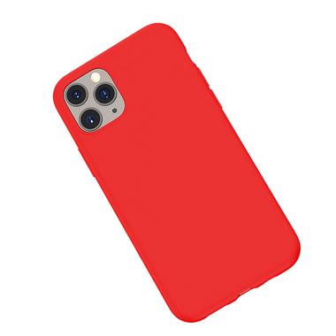 Силиконовый чехол для iPhone 11 Pro Max Magic Silki - красный, фото №3