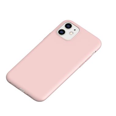 Силиконовый чехол для iPhone 11 Magic Silki - розовый, фото №1