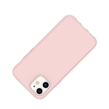 Силиконовый чехол для iPhone 11 Magic Silki - розовый, фото №2