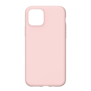 Силиконовый чехол для iPhone 11 Magic Silki - розовый, фото №4
