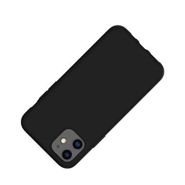 Силиконовый чехол для iPhone 11 Magic Silki - черный, фото №2