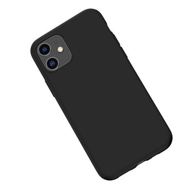 Силиконовый чехол для iPhone 11 Magic Silki - черный, фото №3