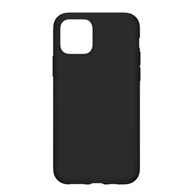 Силиконовый чехол для iPhone 11 Magic Silki - черный, фото №4