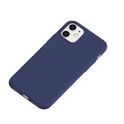 Силиконовый чехол для iPhone 11 Magic Silki - темно синий