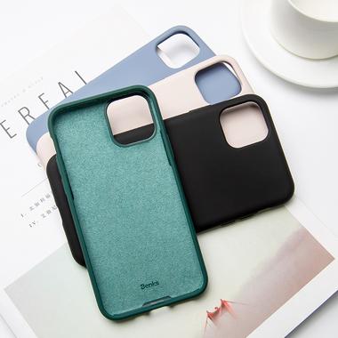 Силиконовый чехол для iPhone 11 Magic Silki - темно зеленый, фото №5