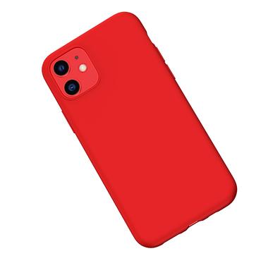Силиконовый чехол для iPhone 11 Magic Silki - красный, фото №3