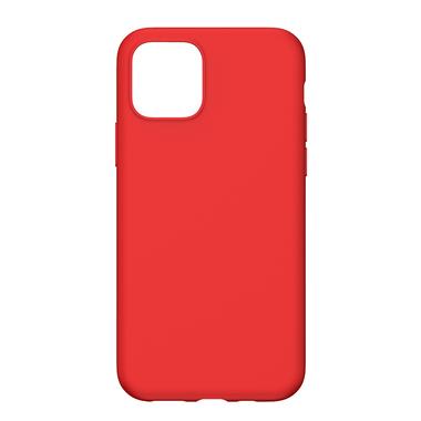 Силиконовый чехол для iPhone 11 Magic Silki - красный, фото №4