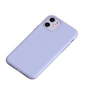 Силиконовый чехол для iPhone 11 Magic Silki - серый