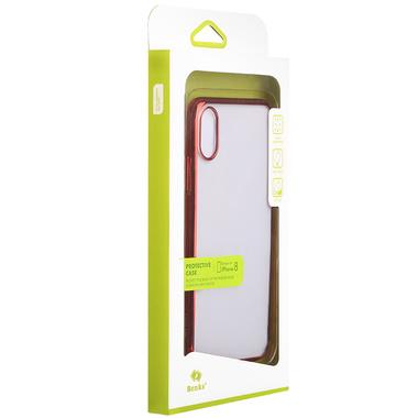Benks чехол для iPhone X - красный Pure, фото №2