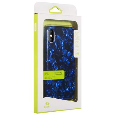 Benks чехол для iPhone X синий Starry, фото №1