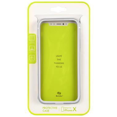 Benks Aegis бампер для iPhone X - Серый, фото №2