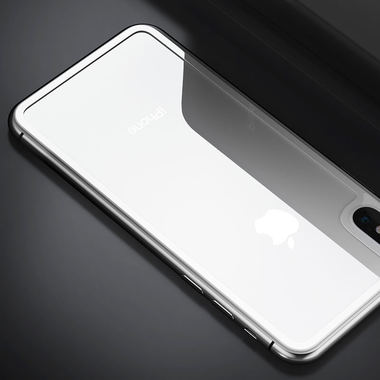 Benks Защитное стекло на заднюю панель iPhone XS - Silver, фото №1