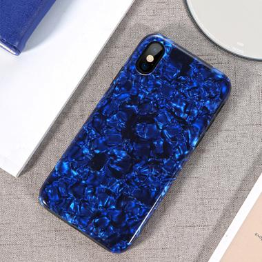 Benks чехол для iPhone X синий Starry, фото №3