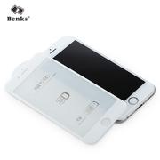 Benks Защитное стекло на iPhone 6/6S Белое 3D KR+Pro