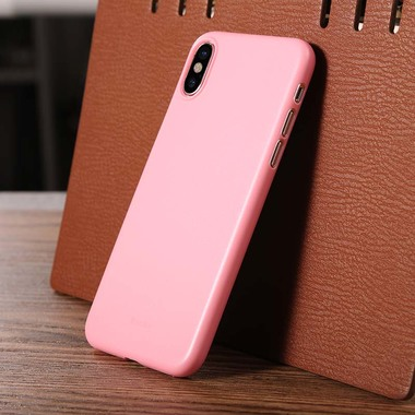Benks Чехол для iPhone X LolliPop Розовый, фото №3