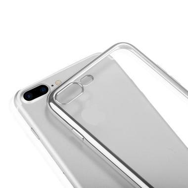 Benks чехол для iPhone 7/8 Electroplating Серебряный, фото №4
