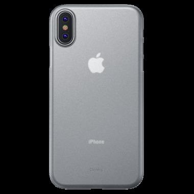 """Benks Чехол для iPhone XR - 6.1"""" - LolliPop белый полупрозрачный, фото №1"""