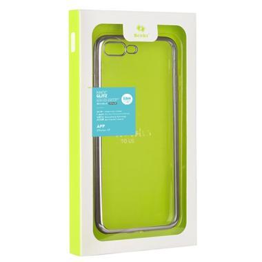 Benks чехол для iPhone 7/8 Electroplating Серебряный, фото №5
