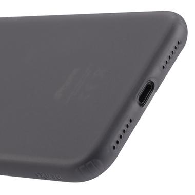 Benks Чехол для iPhone X полупрозрачный черный Pudding, фото №2