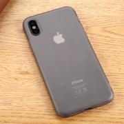 Benks Чехол для iPhone X полупрозрачный черный Pudding