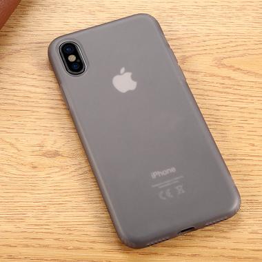 Benks Чехол для iPhone X полупрозрачный черный Pudding, фото №1