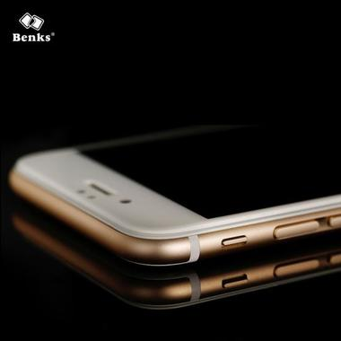 Benks Защитное стекло на iPhone 6 Plus | 6S Plus белое XPro 3D, фото №7