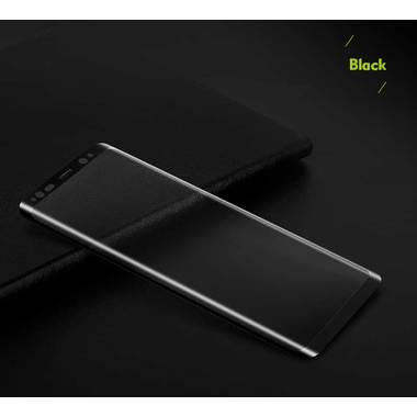 Benks Защитное стекло на Samsung Galaxy S8 - 3D Черное, фото №1