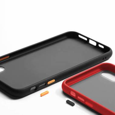Чехол для iPhone X/Xs - красный Magic Smooth, фото №2