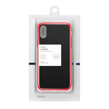 Чехол для iPhone X/Xs - красный Magic Smooth, фото №1