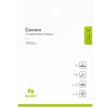 Benks Защитное стекло на камеру для iPhone X/Xs/Xs Max, фото №10