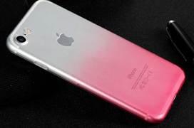 Benks градиентный чехол на iPhone 7/8 розовый