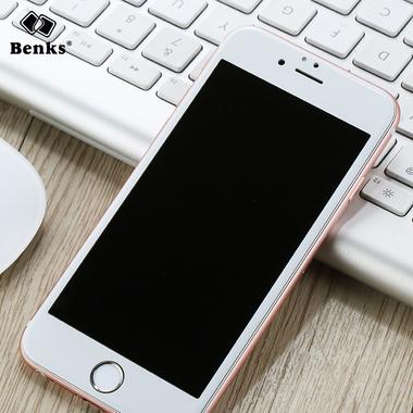 Benks 3D защитное стекло для iPhone 7 Plus - белое KR Pro, фото №1