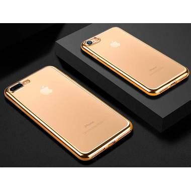 Чехол для iPhone 7 Plus Electroplating - Золотой, фото №1