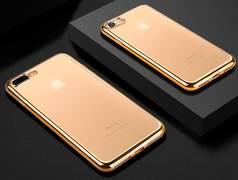 Чехол для iPhone 7 Plus Electroplating - Золотой