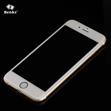 Benks Защитное стекло на iPhone 6/6S XPro 3D Белое, фото №1