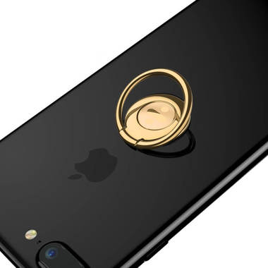 Baseus Symbol Ring Bracket - золотой держатель на палец, фото №1
