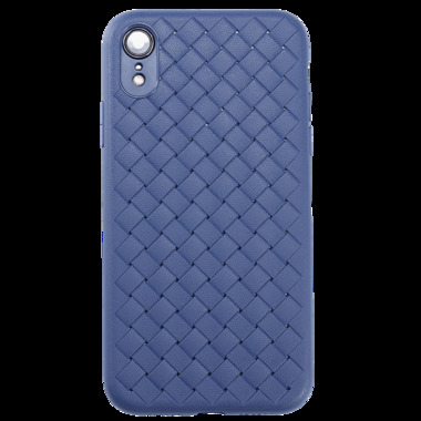 Benks чехол для iPhone XR серия Weaveit - синий, фото №3