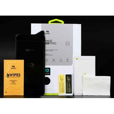 Benks Приватное затемняющее стекло для iPhone 7/8 Белое 3D KR+Pro, фото №3