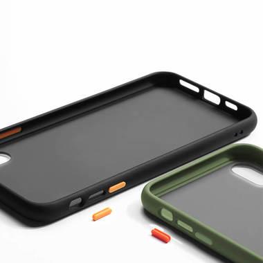 Чехол для iPhone X/Xs - черный Magic Smooth, фото №1