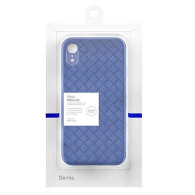 Benks чехол для iPhone XR серия Weaveit - синий, фото №2