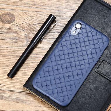 Benks чехол для iPhone XR серия Weaveit - синий, фото №1
